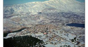 صورة مسعدة بالثلج